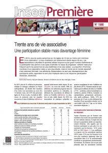 INSEE première associations janv 2016