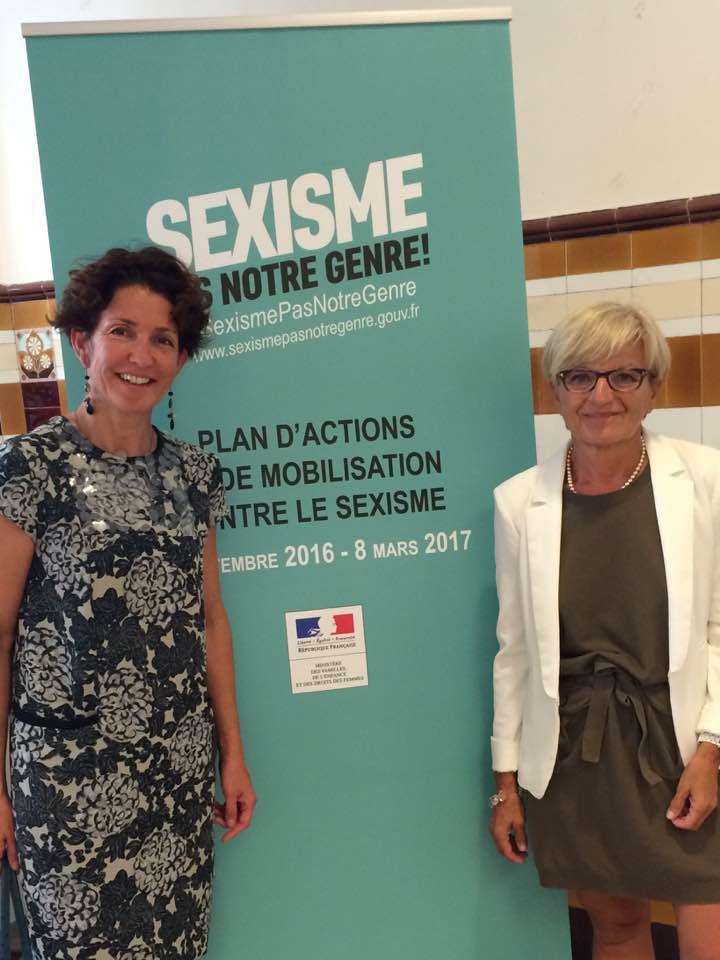 Marie Françoise et Véranne présentes au Palais de la Femme à Paris