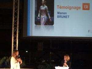 Le témoignage de Manon Brunet, escrimeuse qui a fini 4eme des derniers JO à Rio.