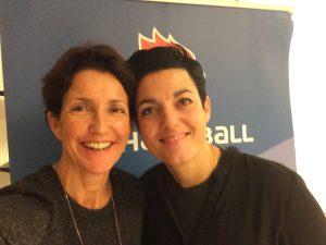 Selfie avec Véranne et la marraine de la formation Charlotte Girard